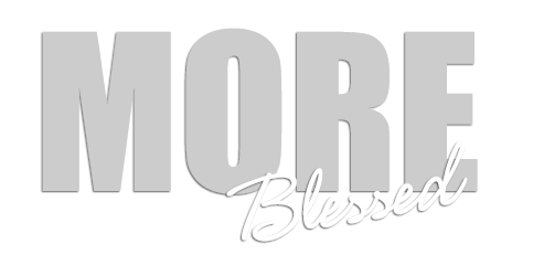 MORE Blessed Mobile Retina Logo